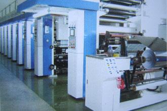 印刷车间2台八色及七色凹版印